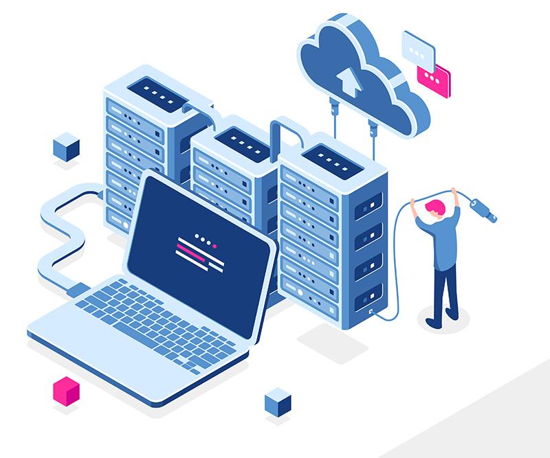 Webhotel med gratis backup