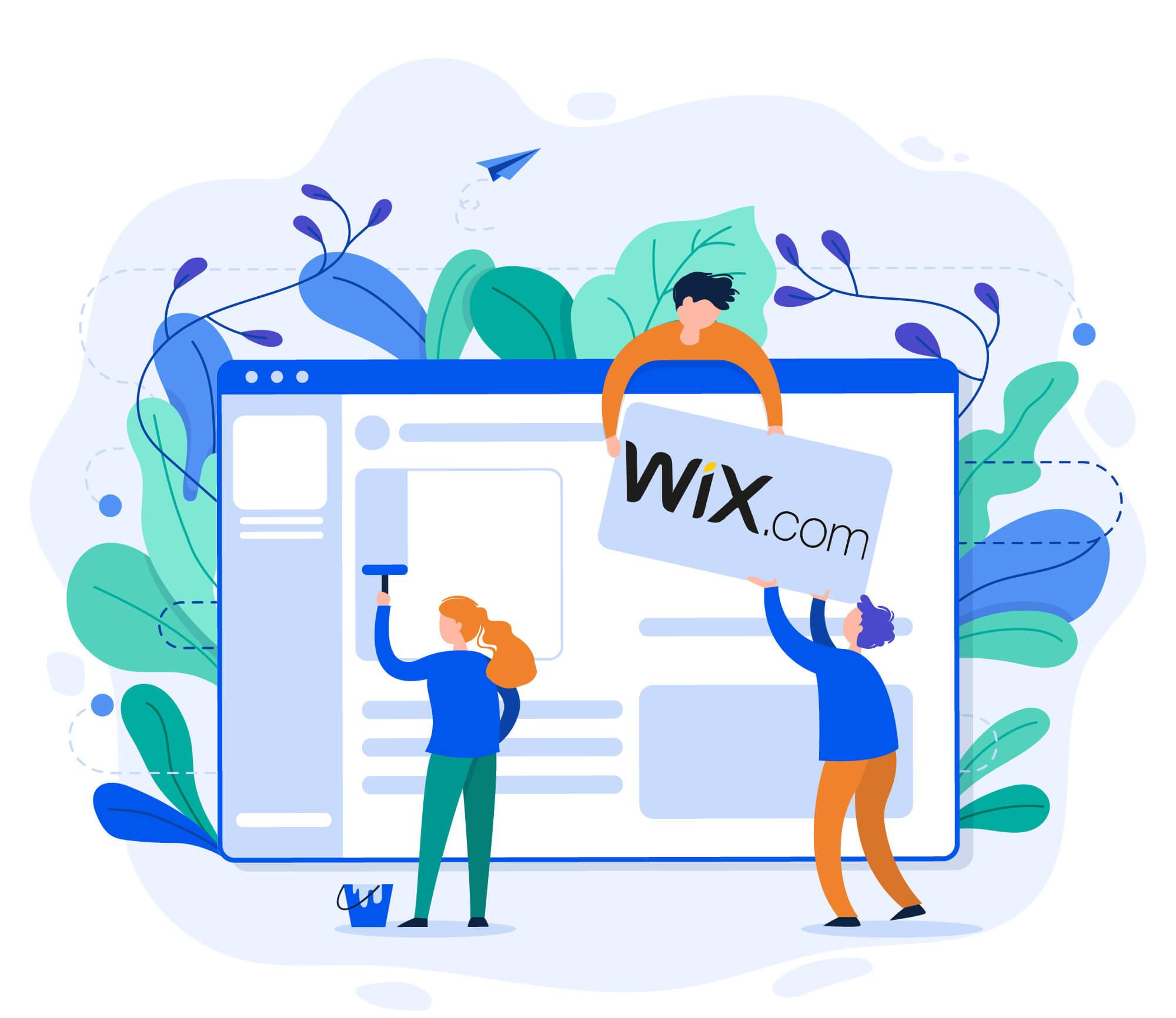 Wix webhotel hos nordicway med eget domæne
