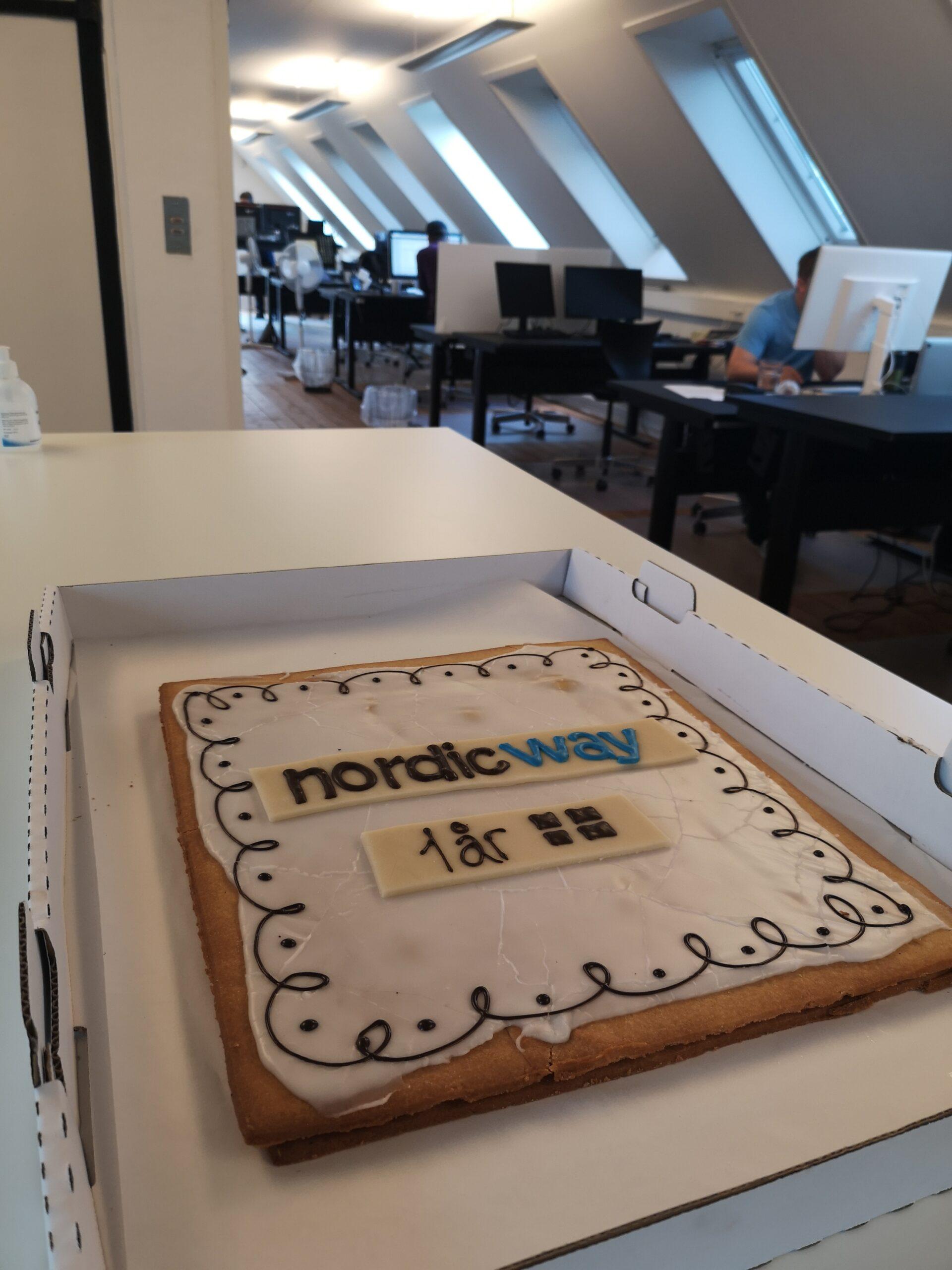 nordicway fylder 1 år!