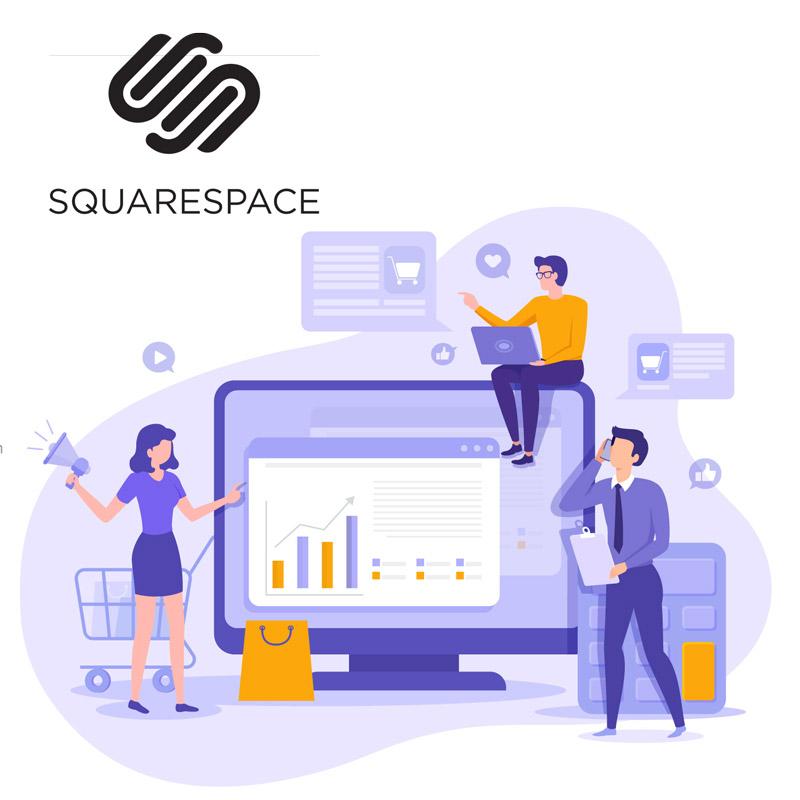 Webhotel til Squarespace
